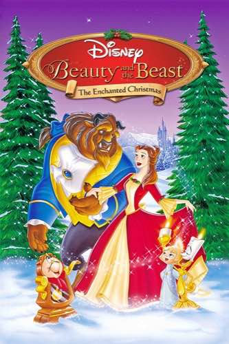 Beauty and the Beast The Enchanted Christmas 1997 movie poster