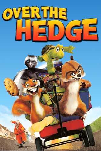 Over The Hedge 2006 movie poster