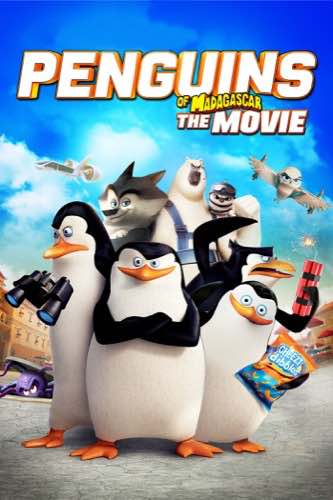 Penguins of Madagascar 2014 movie poster