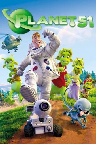 Planet 51 2009 movie poster