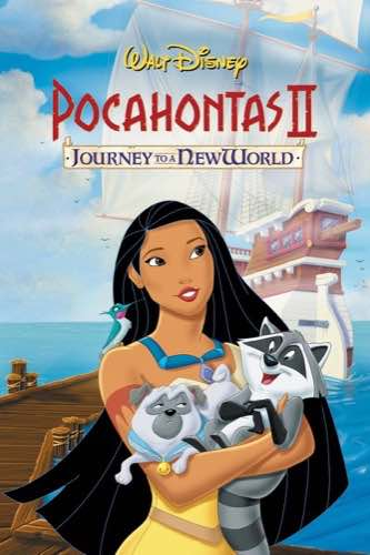 Pocahontas 2 Journey to a New World 1998 movie poster