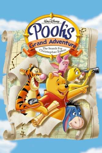 Pooh's Grand Adventure The Search for Christopher Robin 1997 movie poster
