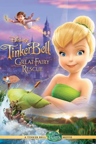 Tinker Bell and the Great Fairy Rescue 2010 movie poster