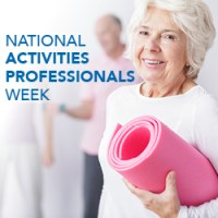 2019 National Activities Professionals Week