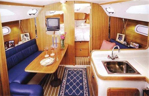 Small Sailboat Interior Design Ideas