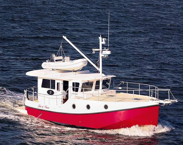 Five Affordable Trawlers Under 40 Feet