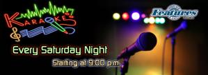 Karaoke @ Features Sports Bar & Grill