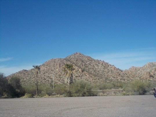 sonora desert hills