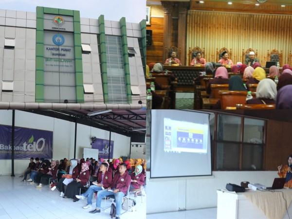 Mahasiswa Prodi S1 Ekonomi Islam FEBI UIN Walisongo KKL Ke Jawa Timur