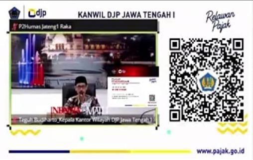 Magang  Relawan Pajak : Pembimbing Dan Mahasiswa Akuntansi Syariah Mendapat Penghargaan Dari  DJP Kanwil I Jateng