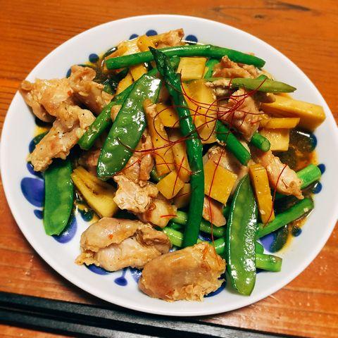 春野菜の中華炒め