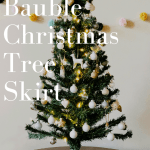 The Mini Bauble Christmas Tree Skirt February Sky Designs