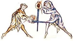 Schwertkampf mit Buckler