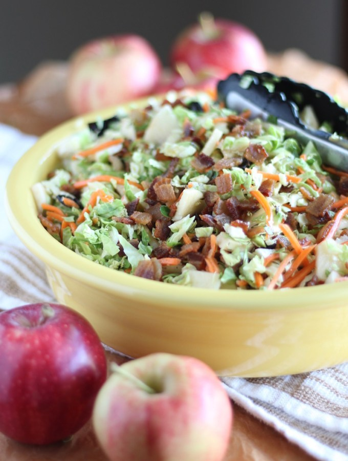 Apple Bacon Brussels Sprouts Salad (AIP)
