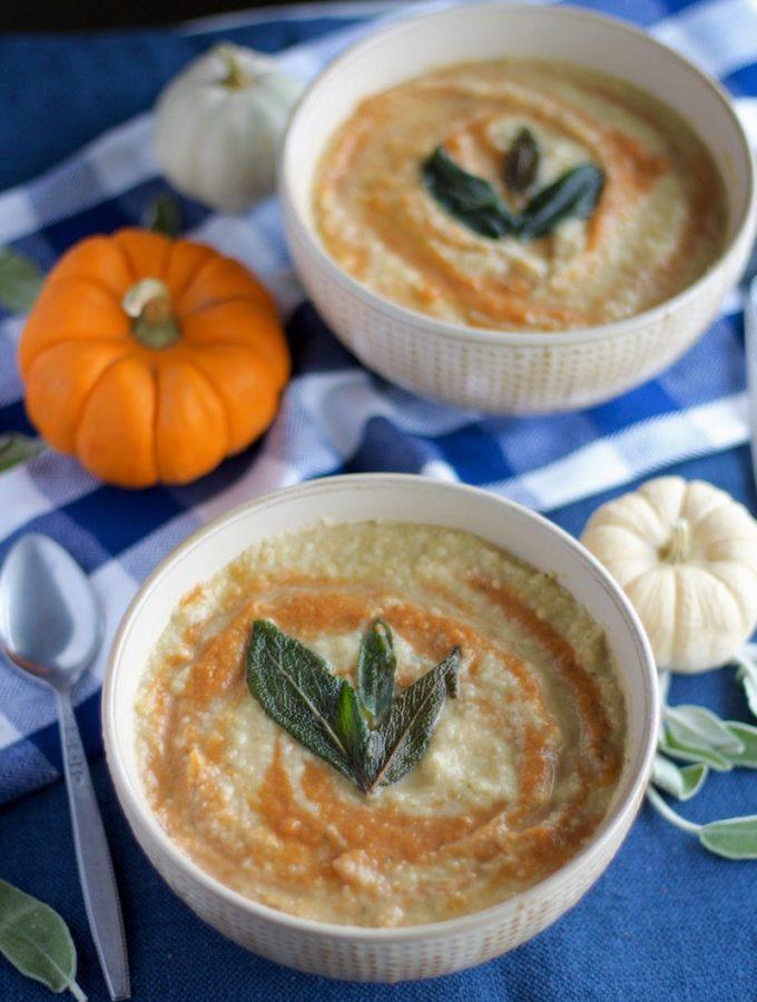 Roasted Parsnip Pumpkin Soup + GAPS Diet