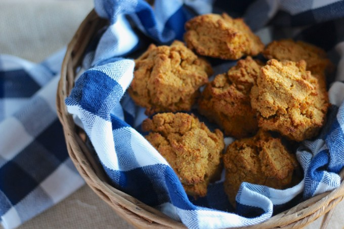 Easy Paleo Drop Biscuits (AIP) - a lightly sweet, tender biscuit that you can whip up in minutes! Plus, it's allergy-friendly and so delicious it could be a dessert! | fedandfulfilled.com