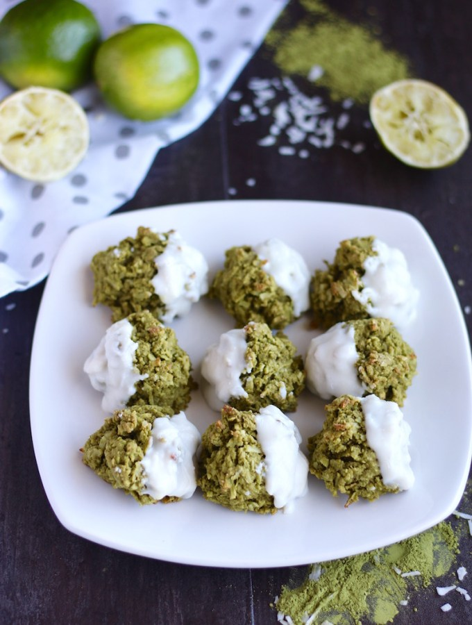 Paleo Matcha Lime Macaroons (AIP)
