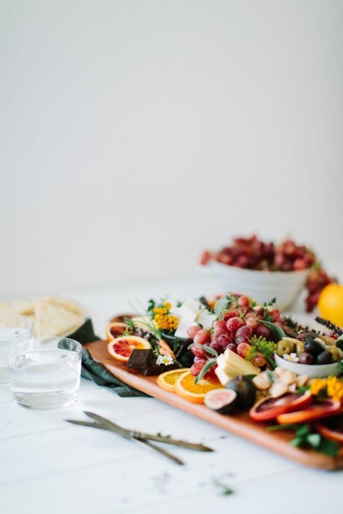 Fed & Full vegan cheese platter 101