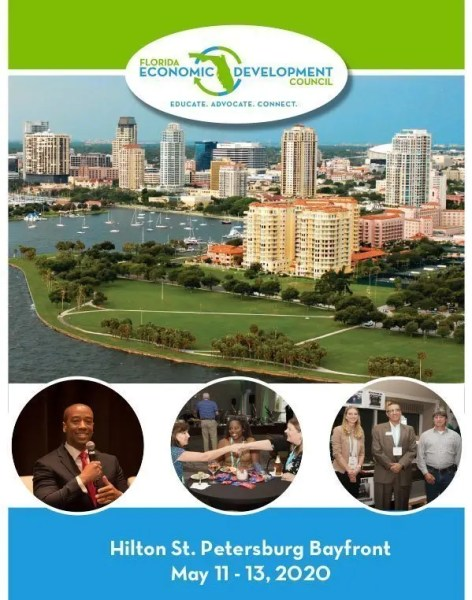 Image of the 1st page of the 2020 FEDC Conference brochure