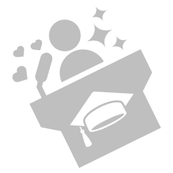 Student representative icon - grayscale on white background