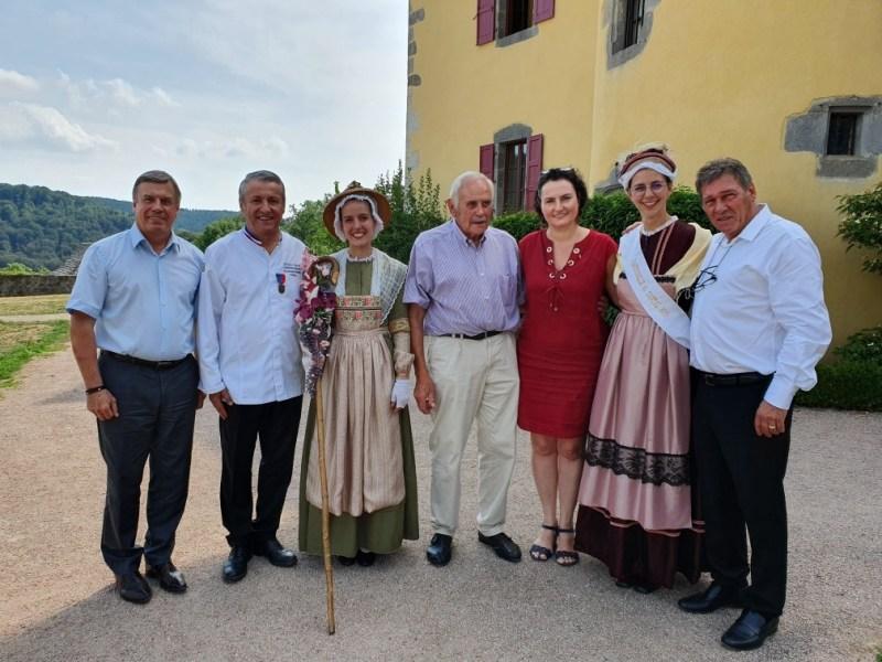 Jean-Luc Bayer, Christian Vabret, Muriel Aublet, André Valadier, Isabelle Cazals, Marie Bonnichon, Bernard Lhéritier