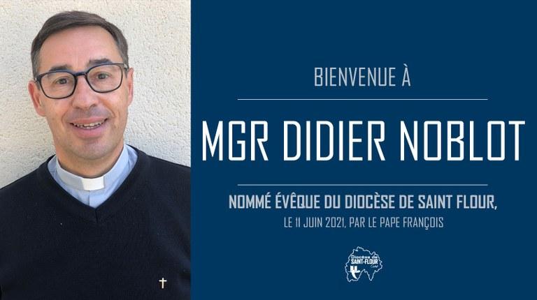Monseigneur Didier Noblot, évêque de Saint-Flour
