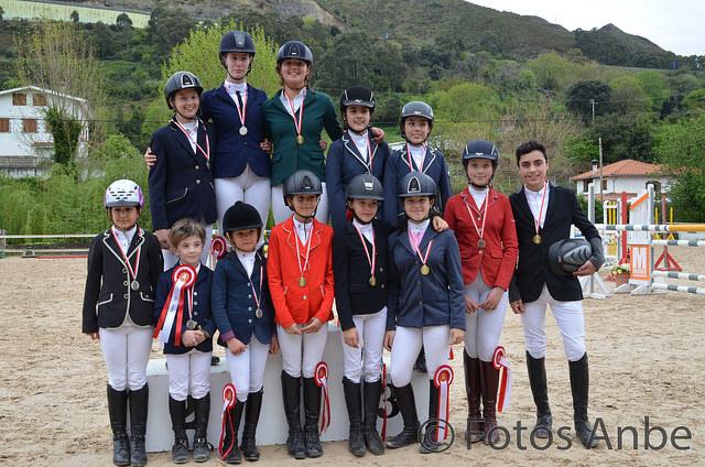 Cantabria ya conoce a sus campeones de Salto con Ponis 2018