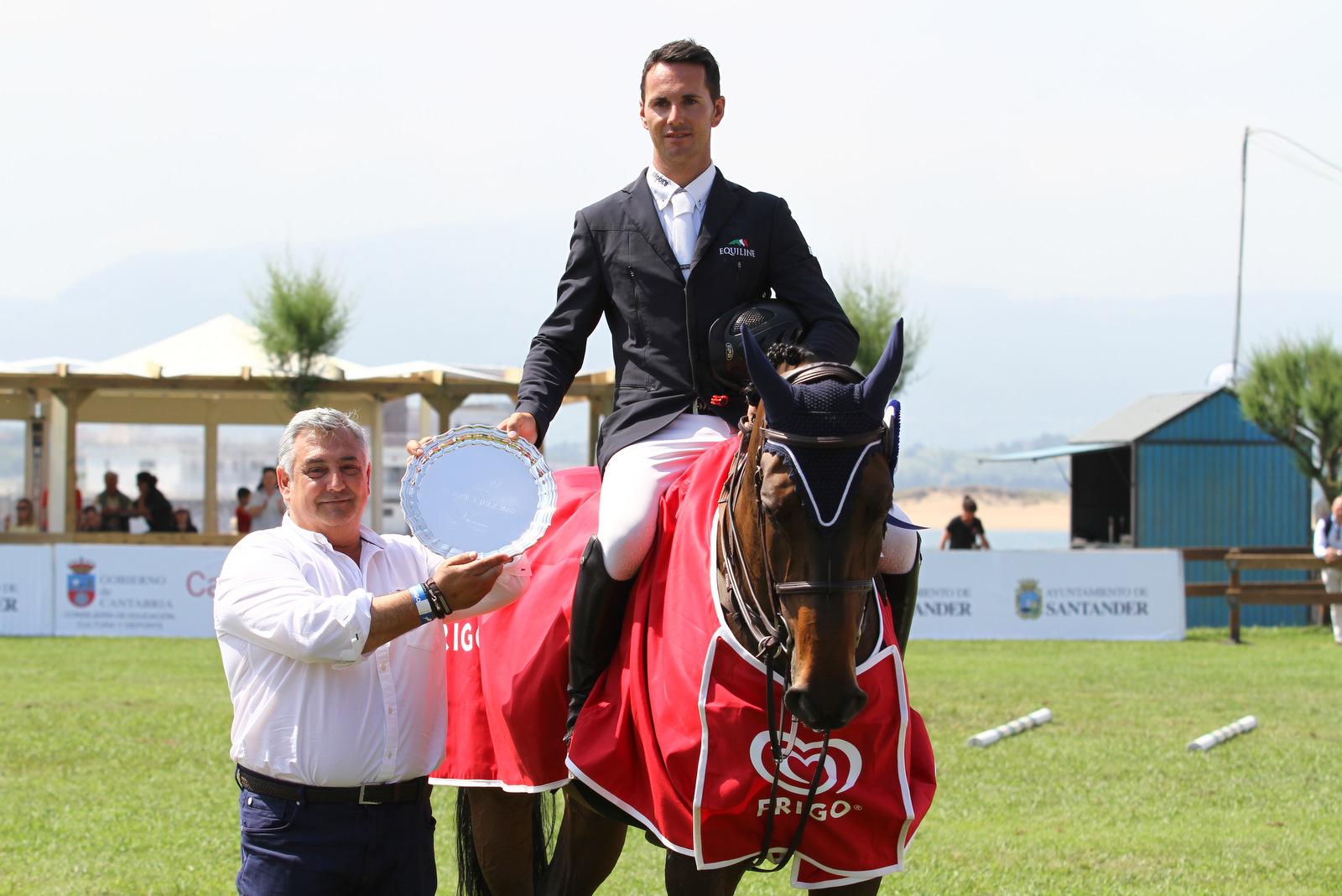 Kevin González de Zárate mantiene su buena racha en Cantabria