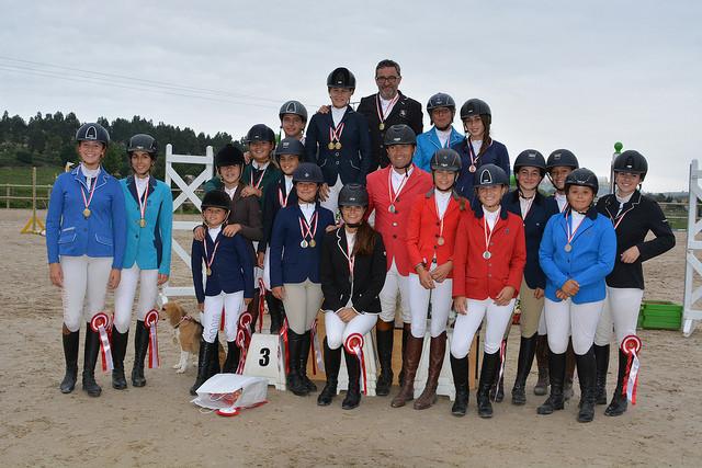 Equus Gornazo acogió el Campeonato de Cantabria de Salto 2018