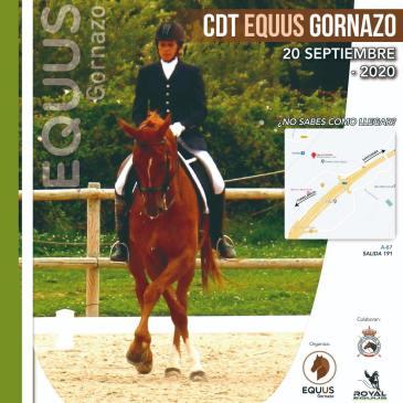 Publicado el avance de programa del CDT Equus Gornazo
