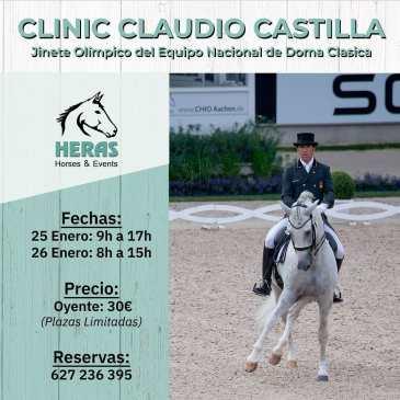 Clínic de Claudio Castilla en Heras Horses&Events