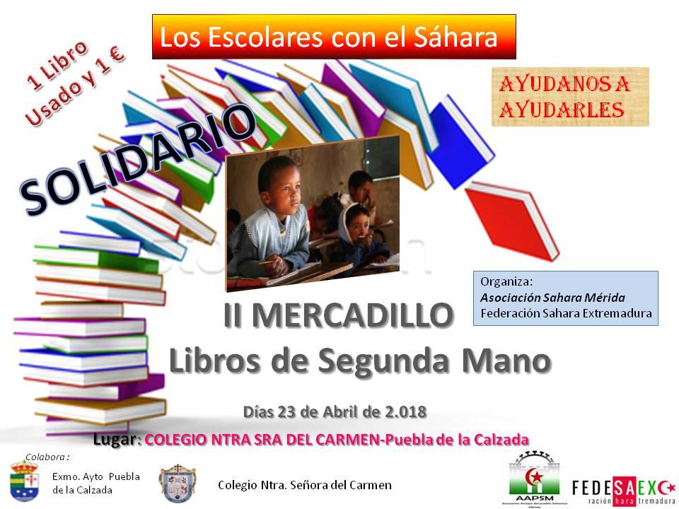 mercadillo-libros-segunda-mano-sahara-merida-fedesaex