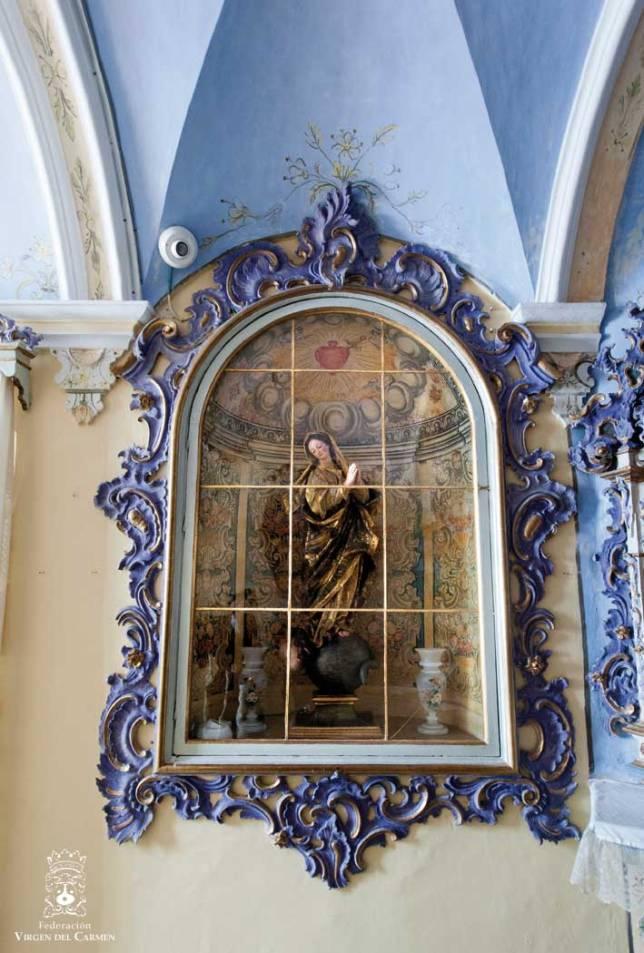 Inmaculada Concepción. Anónimo genovés, s. XVIII
