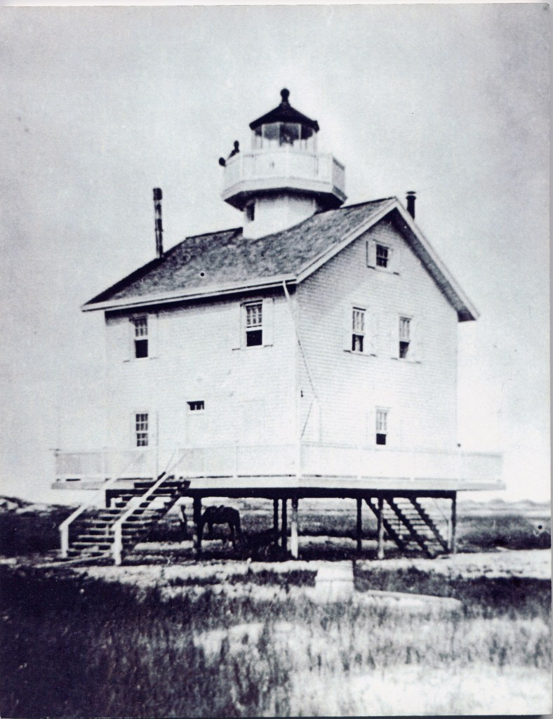 The Third Federal Point Lighthouse