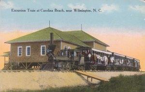 Shoo-fly Train at Carolina Beach