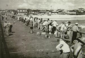 Kure Pier 1923-present