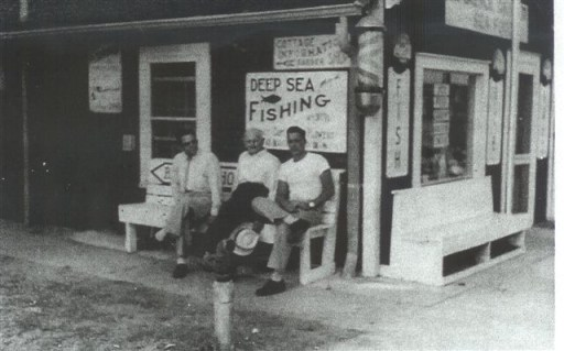 Kure Beach Liars Bench