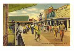 597 Notecard - Boardwalk