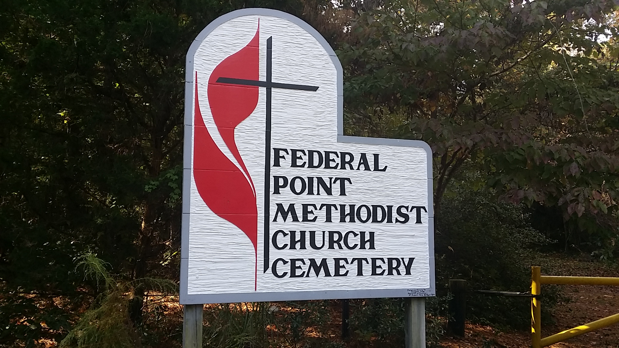 Newton Homesite and Cemetery   Federal Point Historic