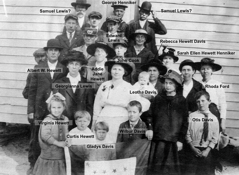 Federal Point Methodist Members - 1920
