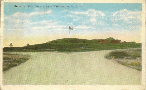 Fort Fisher Postcard