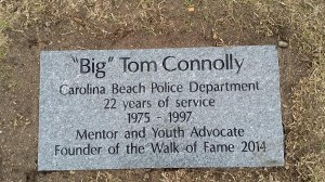 Walk of Fame - Connolly Marker