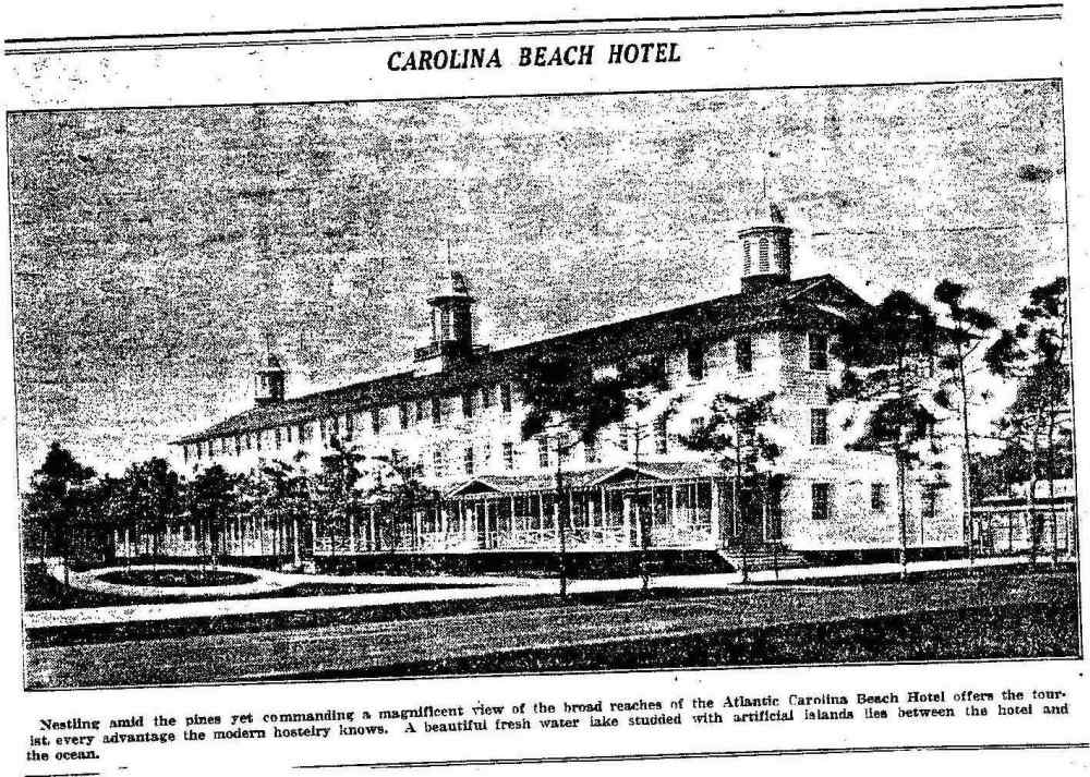 Carolina Beach Hotel - June 1927