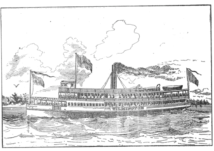The Wilmington - from 'A Colonial Apparition, A Story of the Cape Fear', 1898 – by James Sprunt