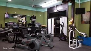 Island Athletic Club gym