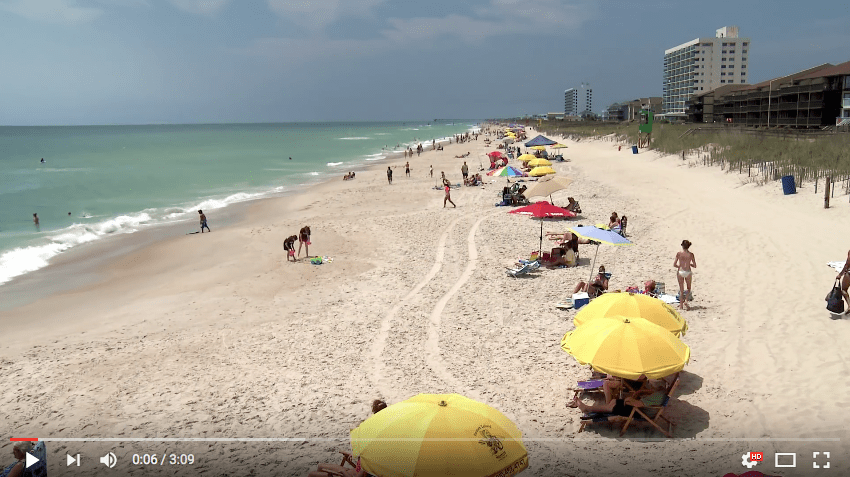 Carolina Beach Attractions Video 062016