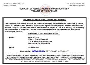 OSC Hatch Act
