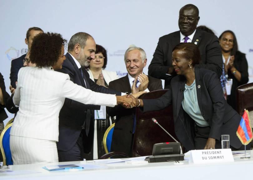 Armenia Francophonie Summit 05830 - Rwandan woman chosen to head body for French-speaking world