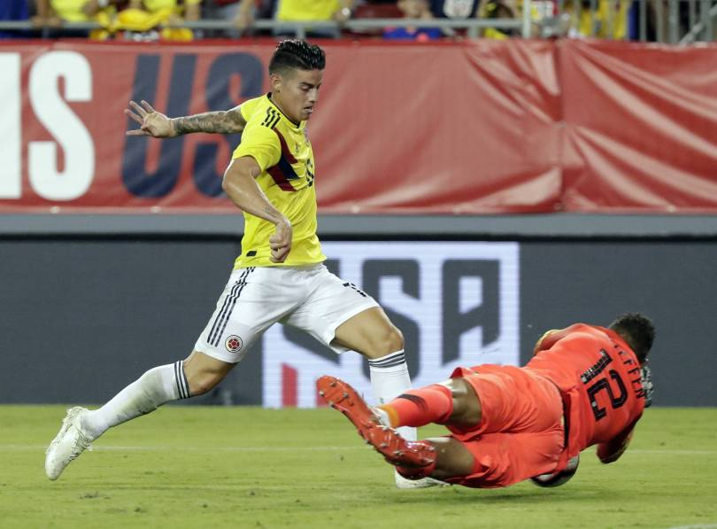 Colombia US Soccer 21251 - Steffen out with tight hamstring; Guzan or Horvath in goal