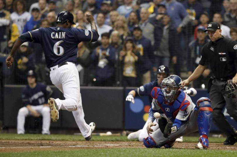 NLCS Dodgers Brewers Baseball 66886 - C Grandal out of Dodgers lineup after rough NLCS Game 1